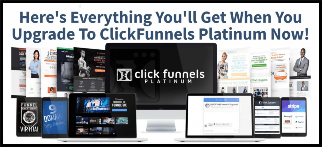 Clickfunnels Platinum Plan